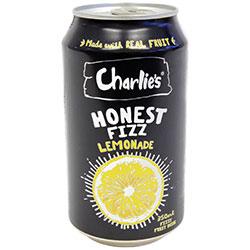 Charlies honest fizz lemonade - 350 ml thumbnail