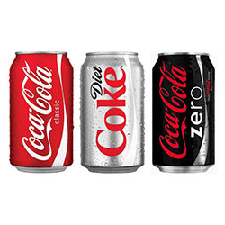 Coca cola soft drink - 375ml thumbnail