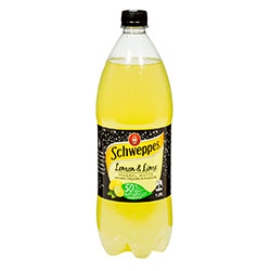 Schweppes lemon and lime mineral water thumbnail