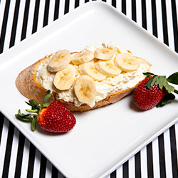 Ricotta drizzle of honey banana on toast thumbnail