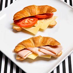 Savoury croissant - large thumbnail