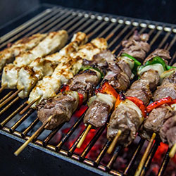 Chargrilled skewers thumbnail