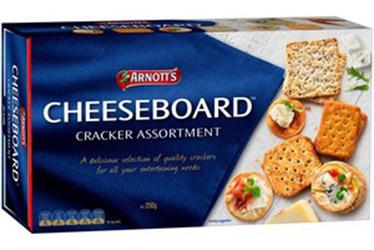 Arnotts Cheeseboard Crackers - 250g thumbnail