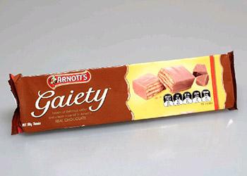 Arnotts chocolate gaiety - 160g thumbnail