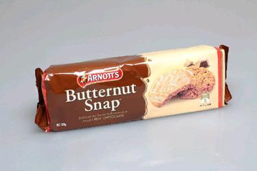 Arnotts Chocolate Butternut Snap - 200g thumbnail