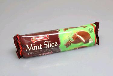 Arnotts Chocolate Mint Slice - 200g thumbnail