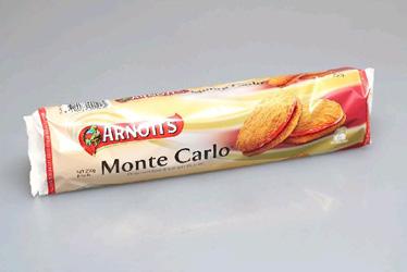 Arnotts Monte Carlo - 250g thumbnail