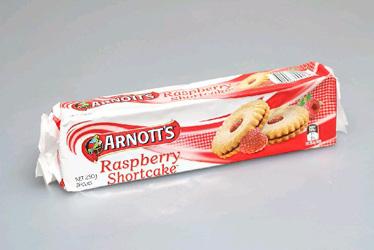 Arnotts Raspberry Shortcake - 250g thumbnail