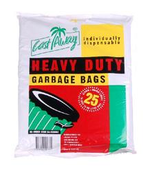 Castaway heavy duty garbage bag - 80 litres thumbnail