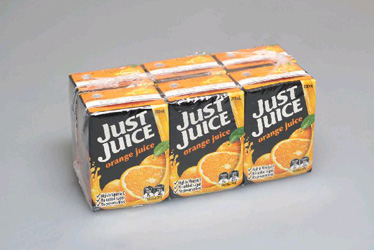 Just Juice Poppers Orange - 200ml thumbnail