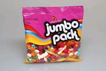 Lolliland jumbo party mix - 700g thumbnail