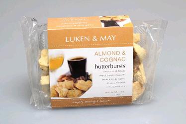Luken & May Butterbursts - Almond and Cognac - 200g thumbnail