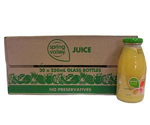 Spring Valley 100% juice - 250ml thumbnail