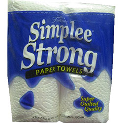 Simplee strong kitchen towel - 2 ply - 65 sheets  thumbnail