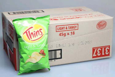 Thins Light and Tangy - 45g bags thumbnail