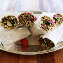 Middle eastern wrap platter thumbnail