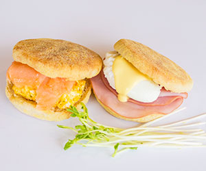 Breakfast english muffin thumbnail