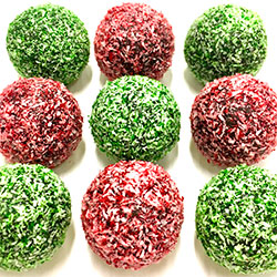 Christmas bliss balls thumbnail
