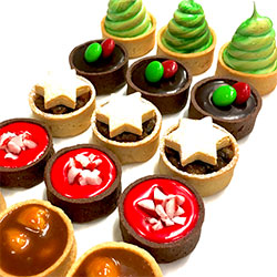 Christmas tarts - mini thumbnail