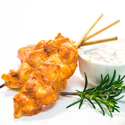 Tandoori chicken skewer thumbnail