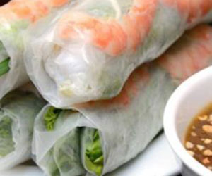 Assorted rice paper roll thumbnail