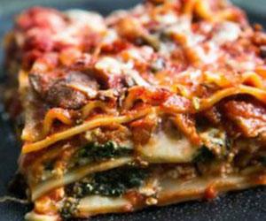 Vegetarian lasagna thumbnail