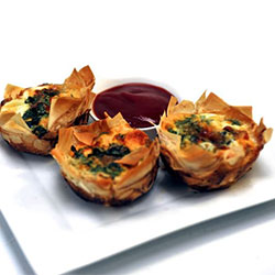 Caramelised onion and goat cheese tart thumbnail