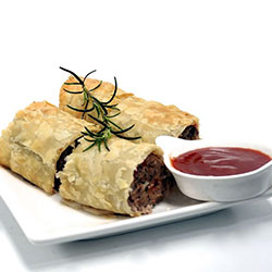 Lamb and rosemary sausage roll thumbnail