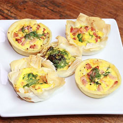 Breakfast quiche - mini thumbnail