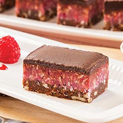 Cherry choc raw vegan slice thumbnail