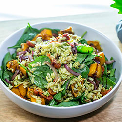 Pesto pumpkin risoni salad thumbnail