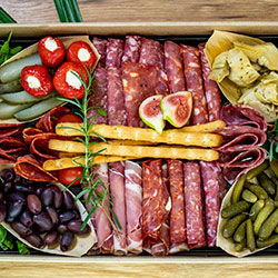 The Cure charcuterie platter thumbnail
