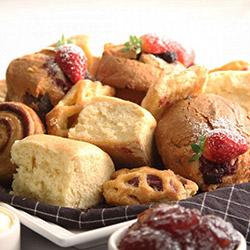 Mixed sweet pastries platter thumbnail