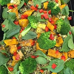 Grilled vegetables salad thumbnail