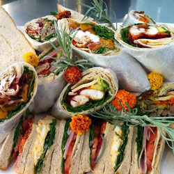 Mixed sandwiches and wrap platters thumbnail