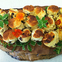 Scones with jam and cream - serves 10 thumbnail
