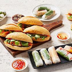 Banh mi and rice paper rolls packge thumbnail