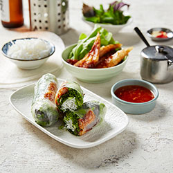 Imperial prawn rice paper roll thumbnail