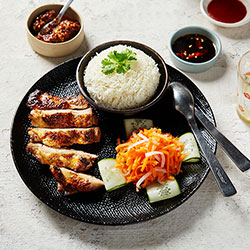 Grilled chicken and rice thumbnail
