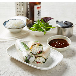 Pork belly rice paper roll thumbnail