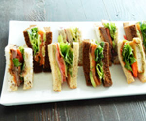 Quartered traditional sandwiches  thumbnail