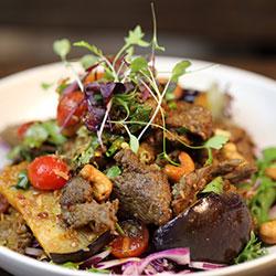 Beef and Thai herb salad thumbnail
