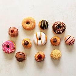 Doughnut and profiterole platter thumbnail