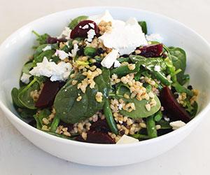 Pearl barley, asparagus and green bean salad thumbnail