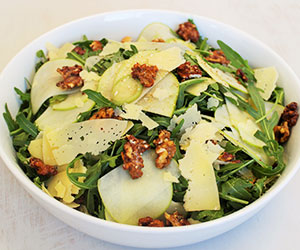Rocket and green apple salad thumbnail