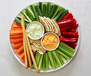 Vegetable crudite platter thumbnail