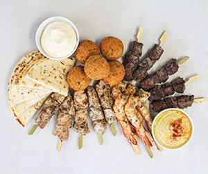 Mediterranean staff lunch thumbnail