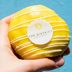 Custom branded doughnuts thumbnail