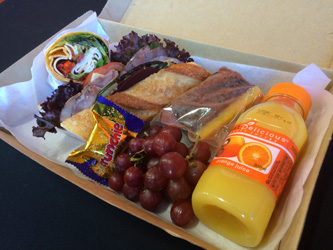 Baguette and wrap lunch box thumbnail