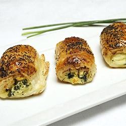 Homemade ricotta and spinach rolls  thumbnail